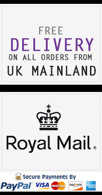 FREE DELIVERY ON ALL ORDERS FROM UK MAINLAND