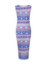 New Womens Ladies Aztec Celebrity Sam Faiers Towie Body